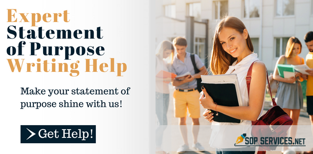 professional statement of purpose writing service