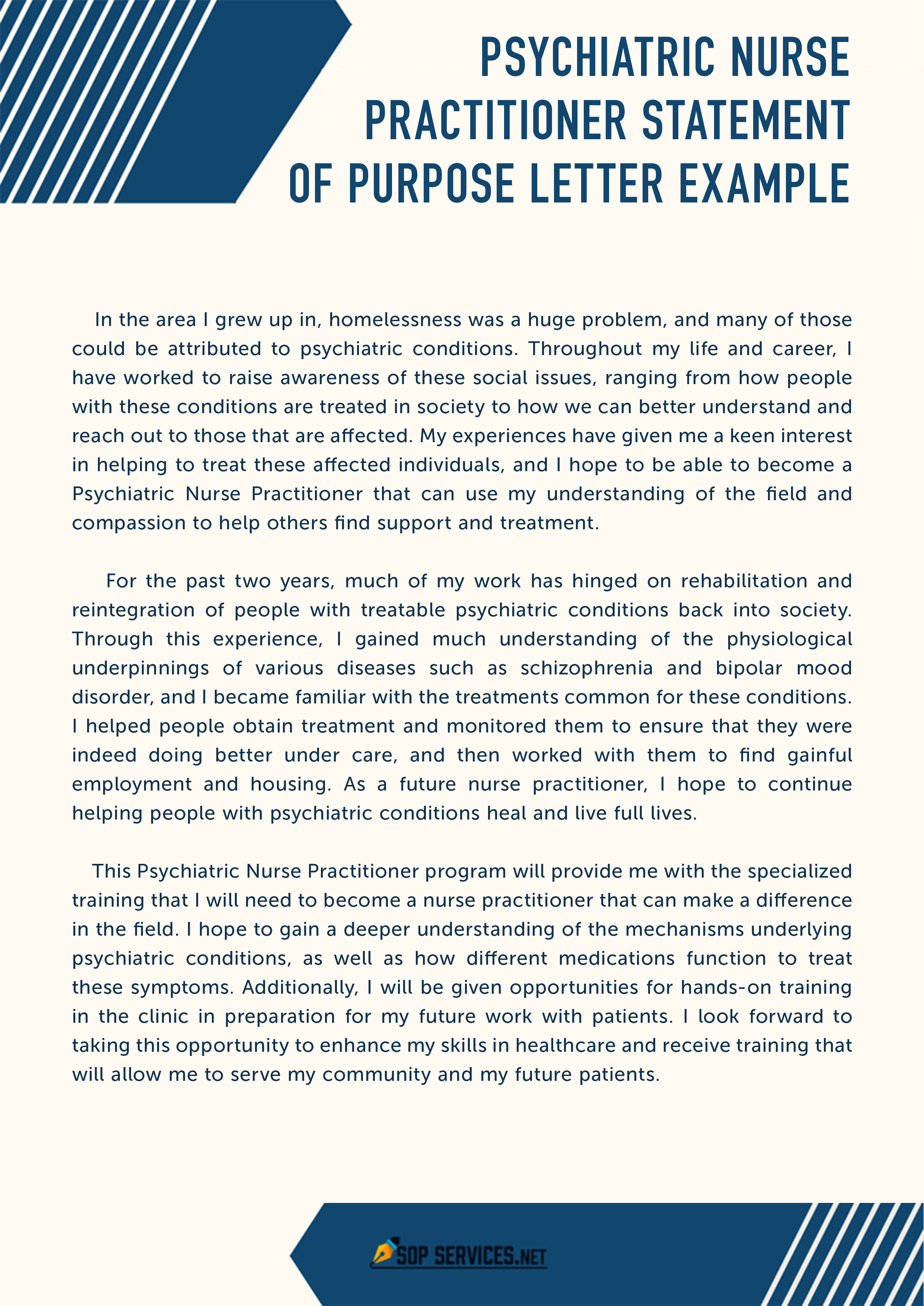 Statement Of Interest Sample Letter from www.sopservices.net