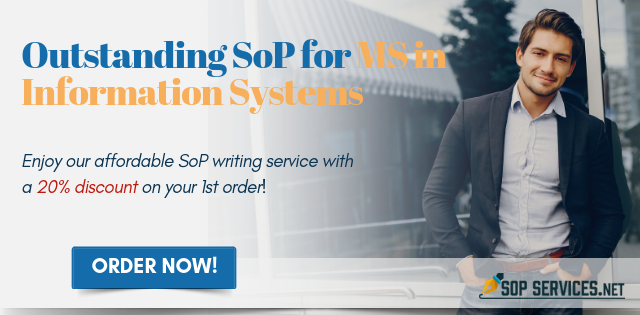 writing sop for masters in information systems
