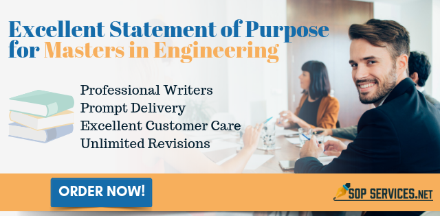 writing statement of purpose for masters in engineering